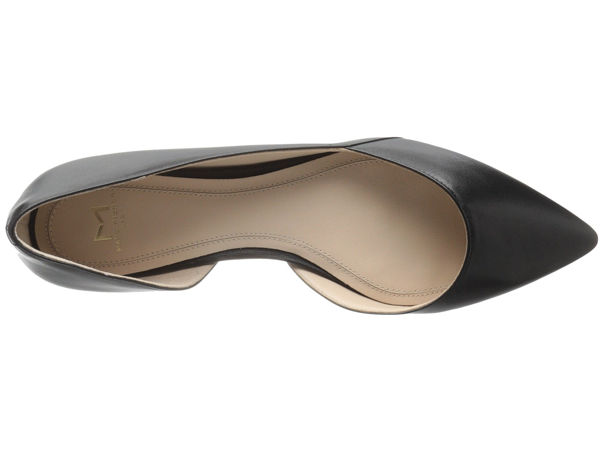 Ltd D'orsay Sunny Flat Black Marc Leather Fisher gqpwagO