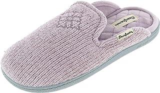 Dearfoams Erin Chenille Knit Extended Tab Scuff womens Slipper