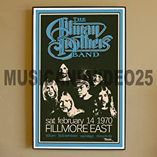 Best allman brothers fillmore east poster Reviews