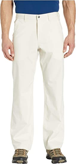 Stretch Poplin Pants Relaxed Fit