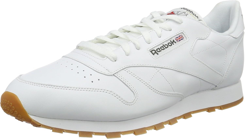 Reebok Men's Classic Leather Low-Top Sneakers