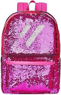 Flip Sequin School Backpack Bookbag for Girls Boys Kids Teen Cute Glitter Sparkly Book bags Back Pack