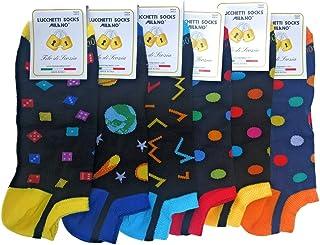 calcetines invisibles tobilleros hombre cortos con dibujos pois producto italiano de calidad extra fine