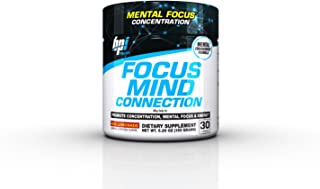 BPI Sports Focus Mind Connection Other, 30 Servings, Red Lemonade, 5.2911 Ounce