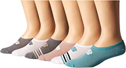 Grey Heather/Pink/Grey Heather/Pink/White/Teal/White/Grey/Teal
