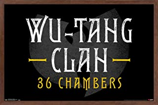 Trends International Wu-Tang Clan-36 Chambers Wall Poster, 14.725
