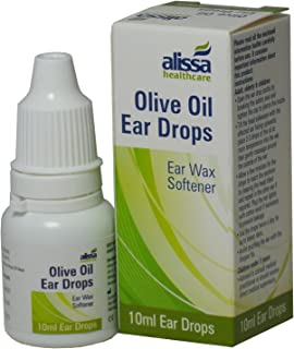2 Packs of Olive Oil Ear Wax Drops Softens Removes Wax 10ml