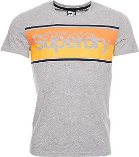 Superdry Men's Core Logo Stripe Tee Casual Shirt