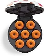 Dash DDM007GBDP04 Mini Maker Makes 7 Doughnuts Imprimé beignet.