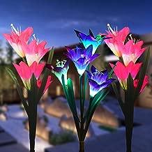 Best solar led tulip lights Reviews