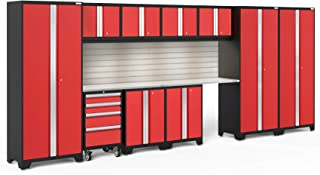 NewAge Products Bold 3.0 Red 12 Piece Set, Garage Cabinets, 56397