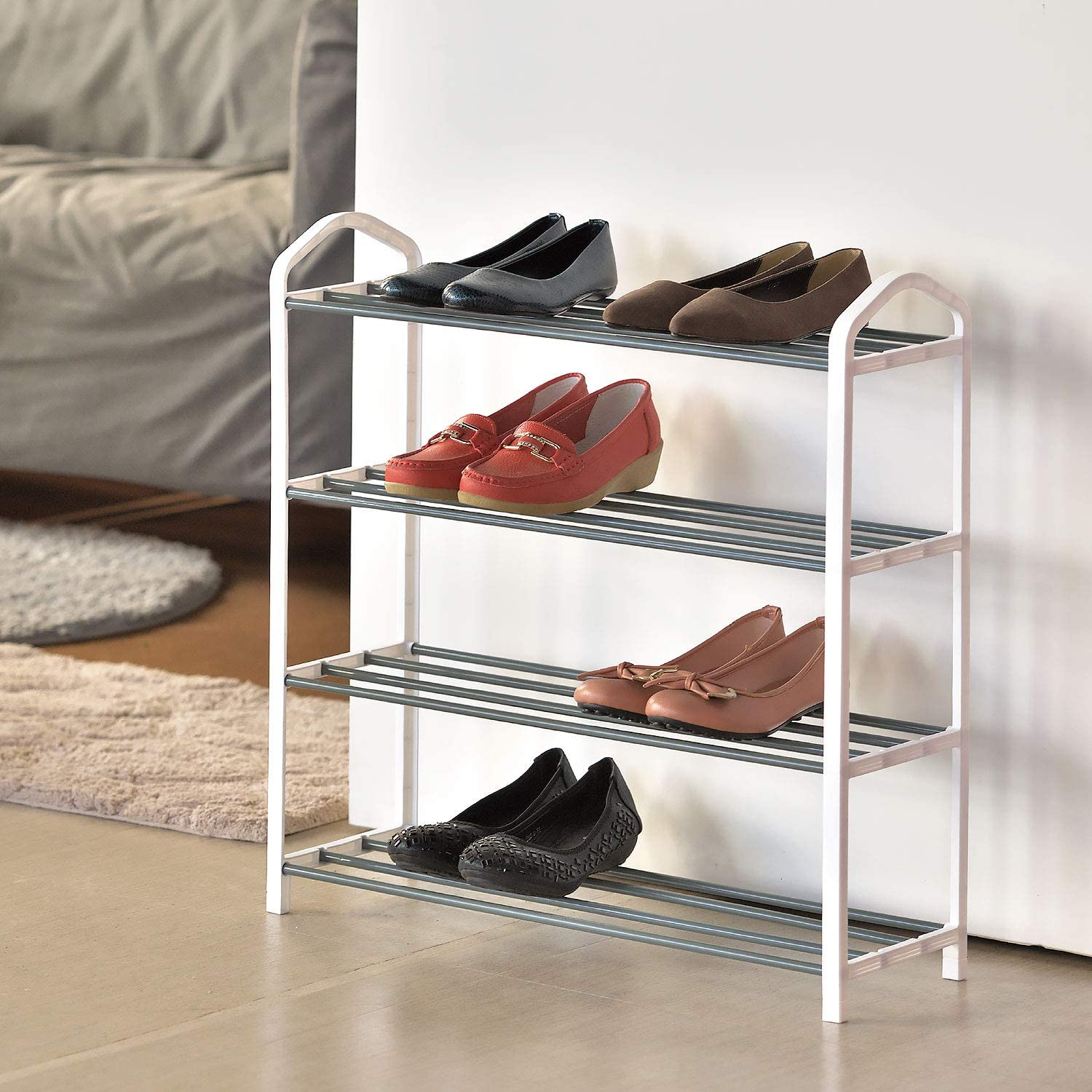 Shoe Organizer San Diego Mall Free Standing Rack Sh Tier Stand Tampa Mall 4