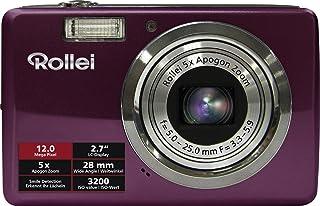 Rollei Compactline 350 digitale camera (12 megapixels, 5 x optische zoom, 6,86 cm (2,7 inch) display) paars