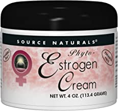 Source Naturals Phyto-Estrogen Cream Advanced Liposomal Delivery Paraben Free Botanical Blend With Black Cohosh Root Extract, Red Clover, Dong Quai, Aloe Vera & More - 4oz