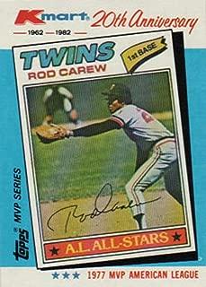 1982 topps rod carew