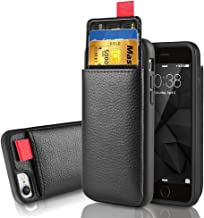 iPhone 8 Wallet Case, iPhone 7 Leather Case, LAMEEKU Shockproof iPhone 7 case with ID Credit Card Slot Holder Money Pocket, Protective Cover for Apple iPhone 8/7 4.7