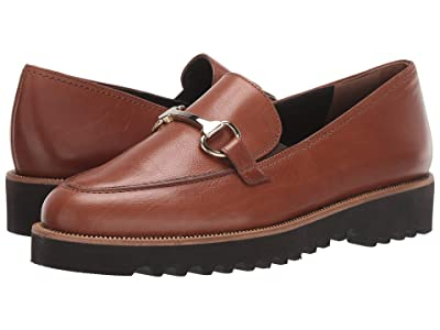 Paul Green Topper Loafer (Cognac Leather) Women