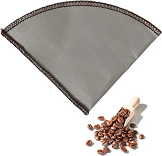 Filtre à Café Réutilisable - Ecologique et Economique - En acier Inoxydable - Taille 4