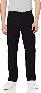 MERAKI Men's Cotton Slim Fit Cargo Trousers