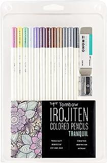 TOMBOW 51529 Irojiten Coloring Set, Tranquil