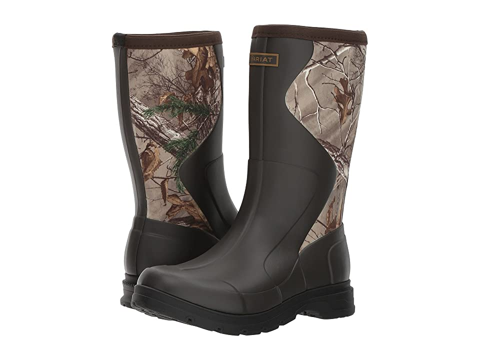 Ariat Springfield Rubber Boot (Olive Green/Realtree Xtra) Women