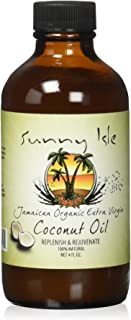 Sunny Isle Extra Virgin Coconut Oil 4 oz