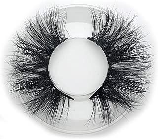Mikiwi 25mm mink lashes E01 3D mink lashes extra length mink eyelashes Big dramatic volumn eyelashes strip individual false eyelash