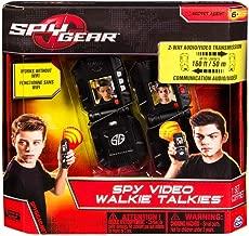 Spy Gear Video Walkie Talkies