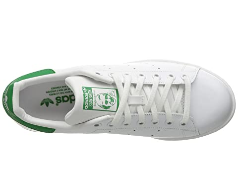 Sale 2018 New Latest Collections  adidas Originals Stan Smith Footwear White/Footwear White/Green 1 aezPupjfI