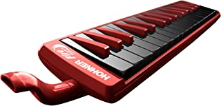 $55 » Hohner 32F 32-Key Piano-Style Fire Melodica, Red
