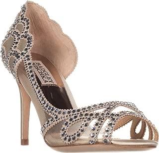 Womens Marla Satin Suede Evening Sandals
