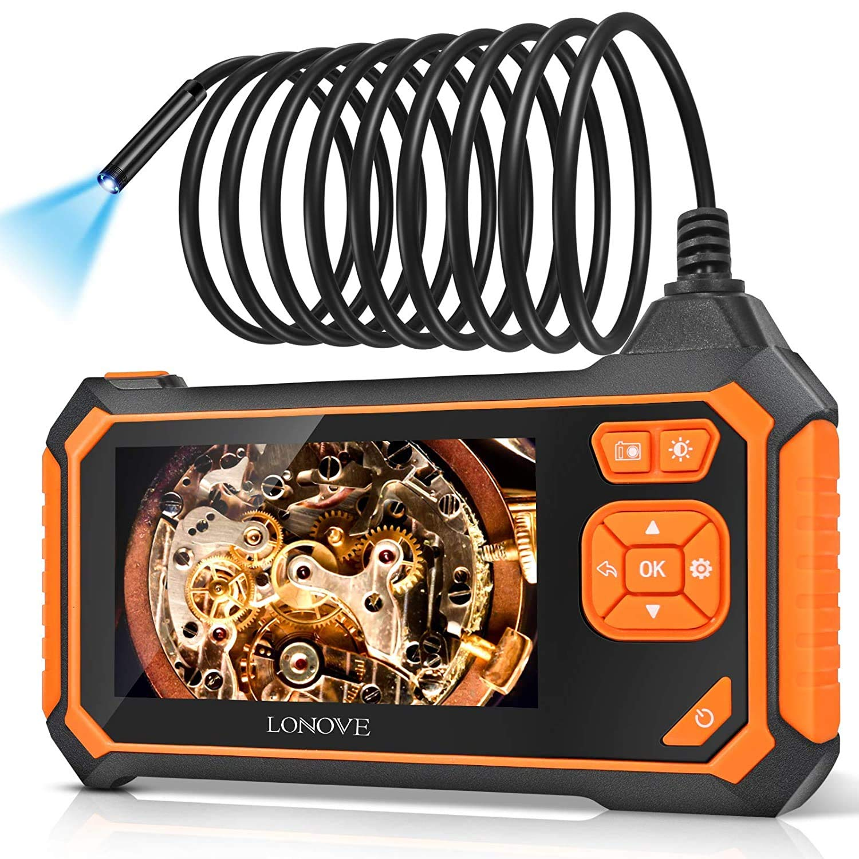 "Lonevo  4.3""  Industrial Endoscope Camera $29.99 Coupon"