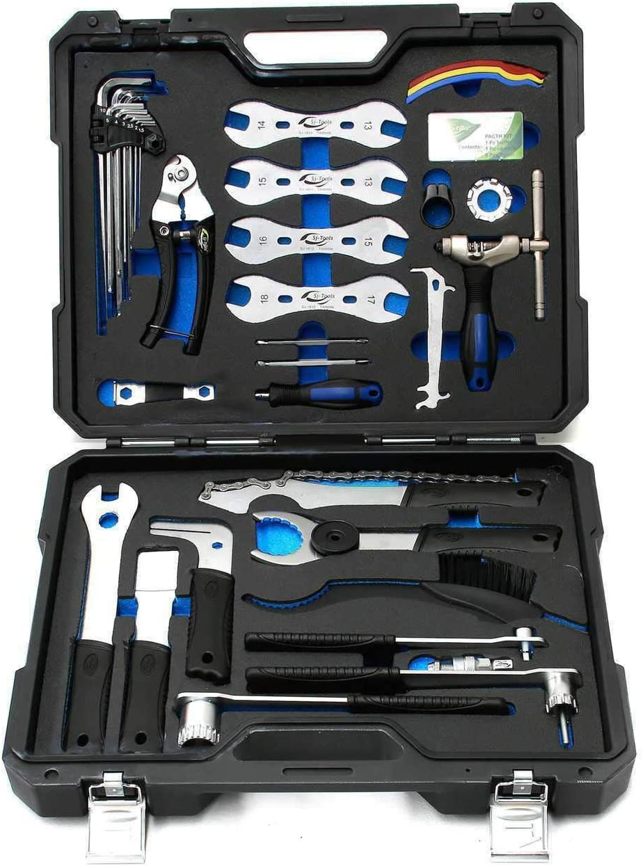 SJ Ranking TOP4 Prenium Bike Bicycle Repair Cheap SALE Start Tool Detachable Complete Kit