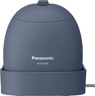 パナソニック 衣類スチーマー モバイル 軽量コンパクトモデル グレイッシュブルー NI-MS100-A