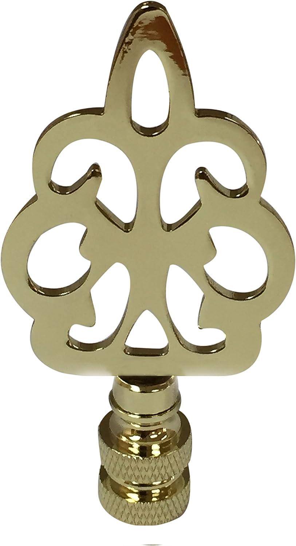 Royal Designs Open Filigree Motif Finial for Lamp Shade 3