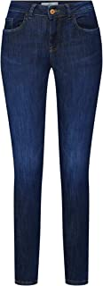 Jacqueline de Yong NOS Women's Jdyknight Skinny Reg Dark Blue DNM Noos Jeans