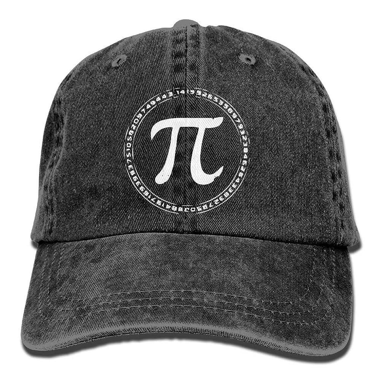 Adult Fashion Sports Denim Baseball Funny Math PI Classic Dad Hat Adjustable Plain Cap