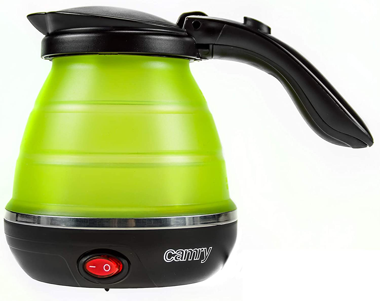 Camry CR1265 CR-1265 Hervidor de Agua Plegable Verde, plastico, 0, 5