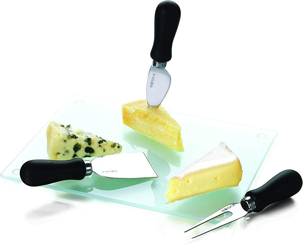 Boska Holland Cheese Set With 3 Knives And 1 Board 4 Pieces Gift Box Explore Collection