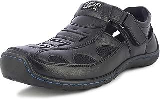 Alberto Torresi Antonio Black Sandals