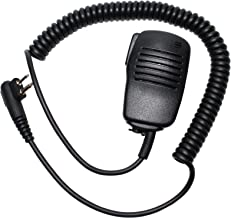 Replacement for Motorola CP200 Two-Way Radio Shoulder Speaker Microphone - Handheld Push-to-Talk (PTT) Mic Compatible with Motorola CP200 - Headset for Security and Surveillance