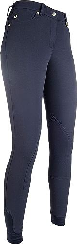 HKM Pantalon -LG Basic- basanes en Tissu 42, 6900 Bleu foncé