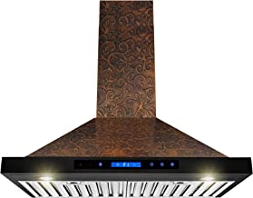 30 copper range hood