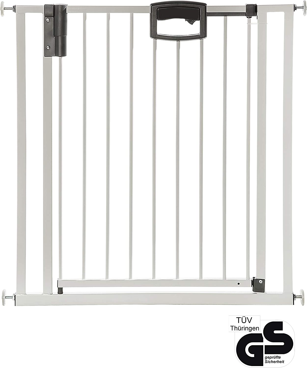 Geuther Easylock Grille Guard Baby Gate for Doors 68 cm  76 cm Easylock+