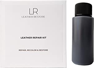 Leather and Vinyl Repair Kit with Ready to Use Color, Espresso Very Dark Brown - Repair, Recolor & Restore Couch, Furniture, Auto Interior & Car Seats