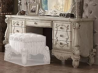 ACME Versailles Bone White Vanity Desk