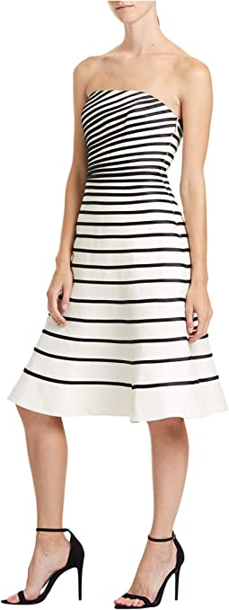 Color-Block Strip Dress