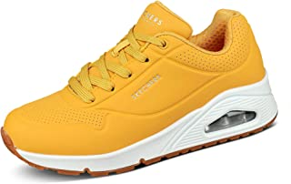 Zapatillas SKECHERS en color amarillo baratas en 2021