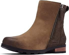 Sorel Emelie Zip Bootie Boots