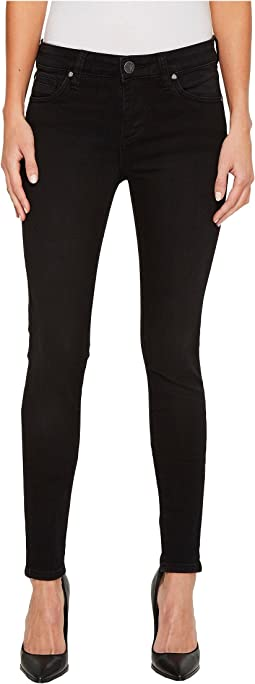 Mia Toothpick Skinny in Black